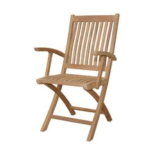 <strong>Anderson Teak</strong> Tropico Folding Dining Arm Chair (Set of 2)