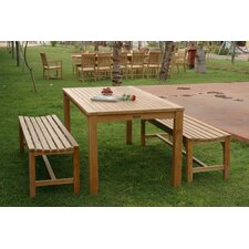 Bahama 3 Piece Dining Set
