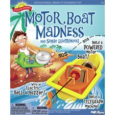 Motor Boat Madness and Sonic Electronics Kit