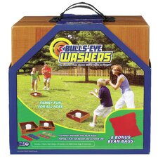 <strong>POOF-Slinky, Inc</strong> Bulls-Eye Washers and Bean Bag Toss Game