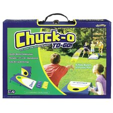 <strong>POOF-Slinky, Inc</strong> Chuck-O To Go Classic Bean Bag Toss Game