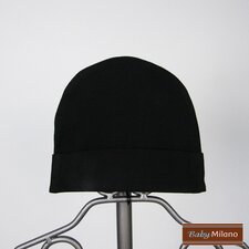 Baby Beanie Hat in Black