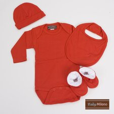 Unisex Baby Clothes Gift Set in Red