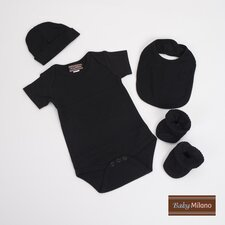 Unisex Baby Clothes Gift Set in Black
