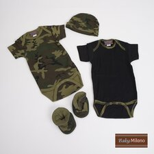 Gift Set in Green Camouflage