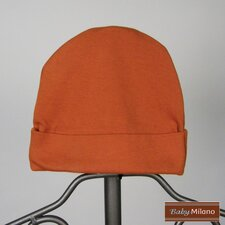 Baby Hat in Burnt Orange