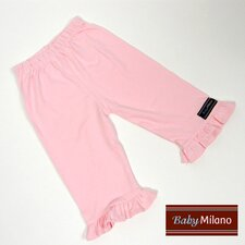 <strong>Baby Milano</strong> Frilled Pants in Light Pink