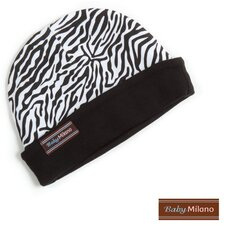 Baby Hat in Zebra Print