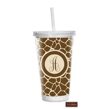 16 oz Giraffe Double Wall Tumbler