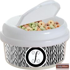 12 oz Zebra Snack Container