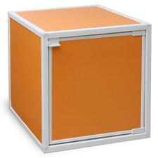 "zBoard Eco Stackable Box 13.1"" Storage Cube with Door"