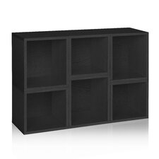 Way Basics Eco Stackable Arlington Modular Bookcase and Storage Shelf