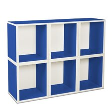 <strong>Way Basics</strong> Eco-Friendly Modular Storage Cubes Plus (Set of 6)