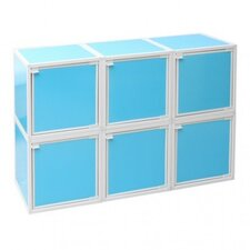 <strong>Way Basics</strong> 6 Cube Modular Storage Box