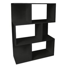 Eco-Friendly Madison Bookcase in Black