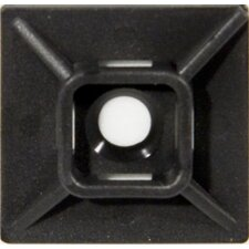 <strong>Morris Products</strong> Medium Self-Adhesive Tie Mounts in UV Black