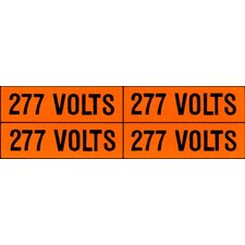 <strong>Morris Products</strong> 120 / 208V Voltage Markers with 4 Markers Per Card