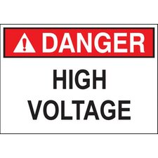 'Danger Sign Arc Flash Hazard' Safety Signs