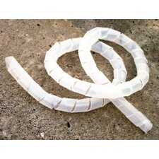 """0.35""""-2.6""""5"""" Spiral Wrap in Natural"""