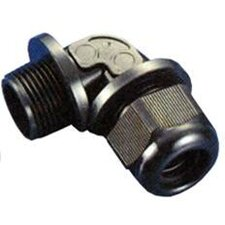 "1.25"" Right Angle Nylon Cable Glands NPT Thread"