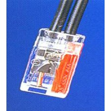 Push-In Wire Connectors in Red (2 Pole Boxed 100 Pack)