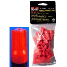 Easy-Cap Wire Connectors in Red