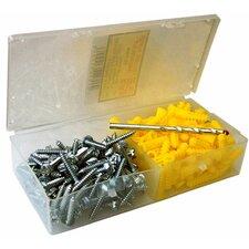"10"" x 1.25"" Super Yellow Anchor Kits Pan Head"