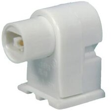 Plunger High Output Fluorescent Lamp Holder
