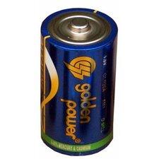 D Alkaline Batteries (Set of 2)
