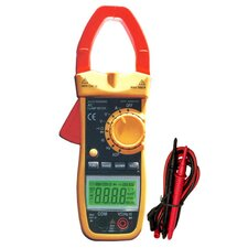 600A AC Cat III TRMS Auto Ranging Digital Clamp Meter