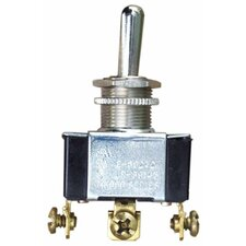 Heavy Duty Momentary SPDT (On)-Off-(On) Toggle Switch