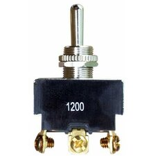 Heavy Duty Momentary DPDT On-Off-(On) Toggle Switch