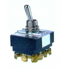 Heavy Duty 4PDT On-Off-On Toggle Switch