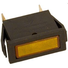Rectangular Indicator Pilot Lamp in Amber