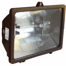 120V 300W Quartz Bronze Floodlight in Bronze