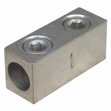 2 AWG 2 Screw Aluminum Splicer / Reducer