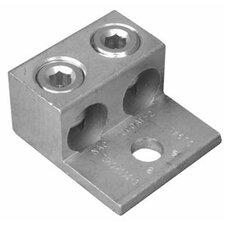 2/0 AWG Two Conductors One Hole Mount Aluminum Mechanical Lug