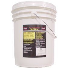 5 Gallon Pail Fire Stop Caulking Compound in Red