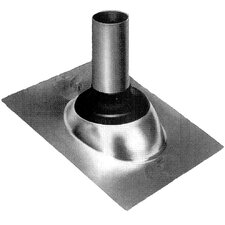 "1.25""-1.5"" Galvanized Self-Seal Roof Flashing"