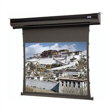 "Tensioned Contour Electrol Da-Tex (Rear) 92"" Electric Projection Screen"