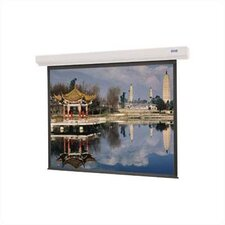 "92669W Designer Contour Electrol Motorized Screen - 69 x 92"", 120V, 60Hz"
