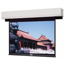 "Advantage Deluxe Electrol High Contrast Matte White Motorized Front 54"" x 96"" Electric Projection Screen"