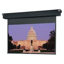 "Dual Masking Electrol Motorized Matte White 45"" x 60"" Electric Projection Screen"