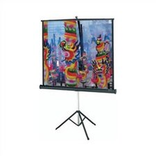 "Silver Matte Versatol Manual Screen - AV Format 70"" x 70"""