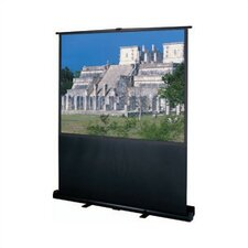 """Deluxe Insta-Theater Wide Power 100"""" Diagonal Portable Projection Screen"""
