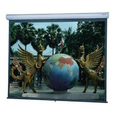 "Silver Matte Model C with CSR Manual Screen - 69"" x 92"" Video Format"
