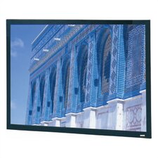 "High Contrast Cinema Perforated Da-Snap Fixed Frame Screen - 37 1/2"" x 88"" Cinemascope Format"