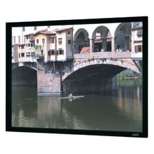 "High Contrast Da-Mat Imager Fixed Frame Screen - 40 1/2"" x 72"" HDTV Format"