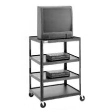 "Pixmobile 25"" x 30"" Multi-Shelf Adjustable Television Cart"