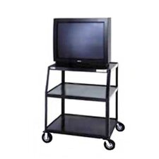 "<strong>Da-Lite</strong> Pixmate 24"" x 38"" Shelf Television Cart With 5"" Casters [41"" Height]"